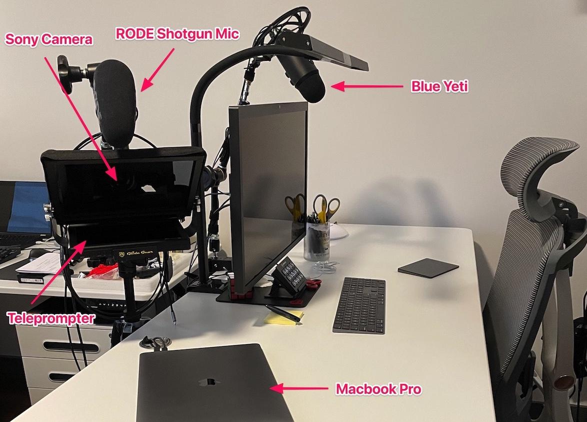 Seth Vargo Desk Setup