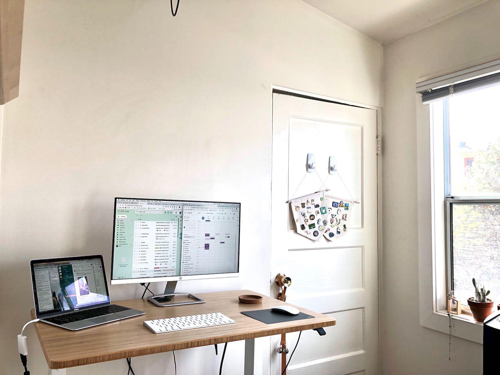 Home office setup of Noemi Mercado, Head of PeopleOps