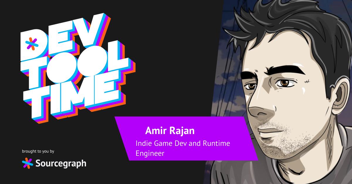 Down the ergonomic rabbit hole: Dev Tool Time with Amir Rajan